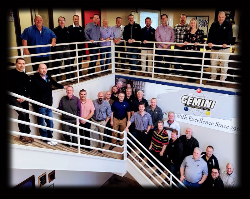 Gemini Sales Team 2018